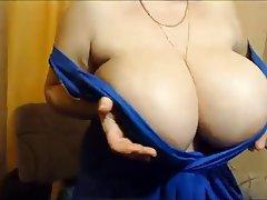 BBW, Big Boobs, Mature, Russian, Webcam