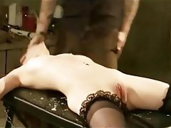 BDSM, Bondage, Hardcore, Small Tits, Stockings