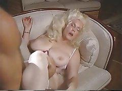 Blonde, Pantyhose, Vintage, MILF
