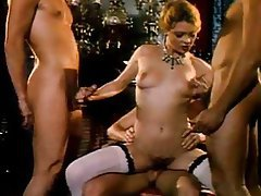 Vintage, Group Sex, Blowjob, Threesome