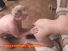 Amateur, Ass Licking, Granny, Lesbian