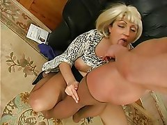 Big Boobs, Mature, MILF, Pantyhose
