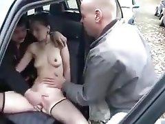 Mature, Stockings, MILF, Cum in mouth