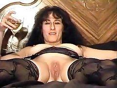 Brunette, Mature, Vintage, Saggy Tits