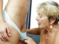 Lesbian, Mature, Old and Young, Granny