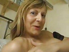 British, Masturbation, MILF, Stockings