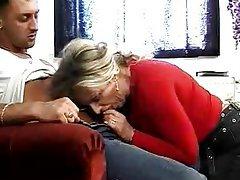 Anal, Mature, German, Granny