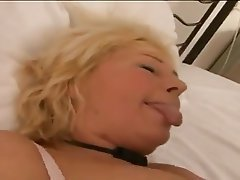 BBW, Blonde, Blowjob, Granny