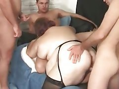 BBW, Group Sex, Hardcore