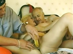 French, Granny, Hairy, Mature