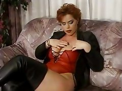 Big Boobs, German, Masturbation, Mature, Redhead